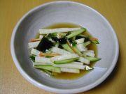 長芋の中華風酢の物