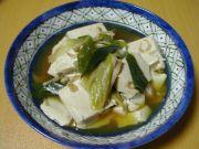 豆腐と桜海老の煮物